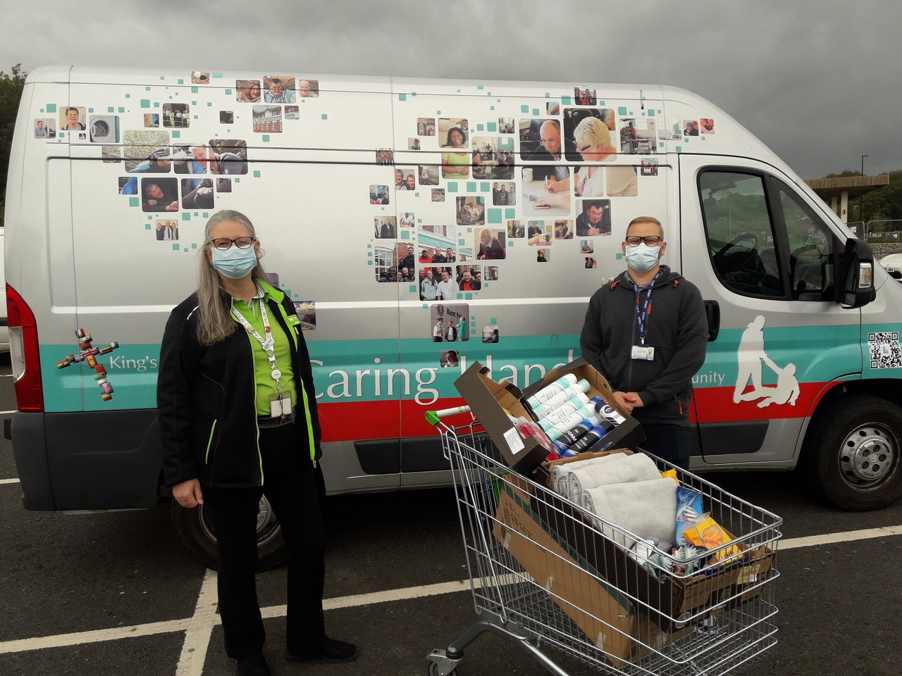 Donation to Caring Hands | Asda Gillingham Pier
