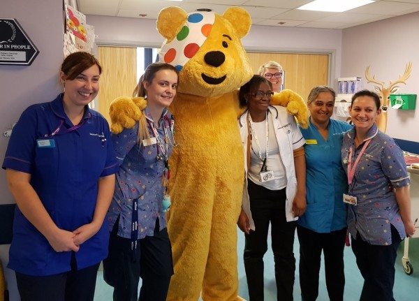 Asda Greenhithe supporting BBC Children in Need