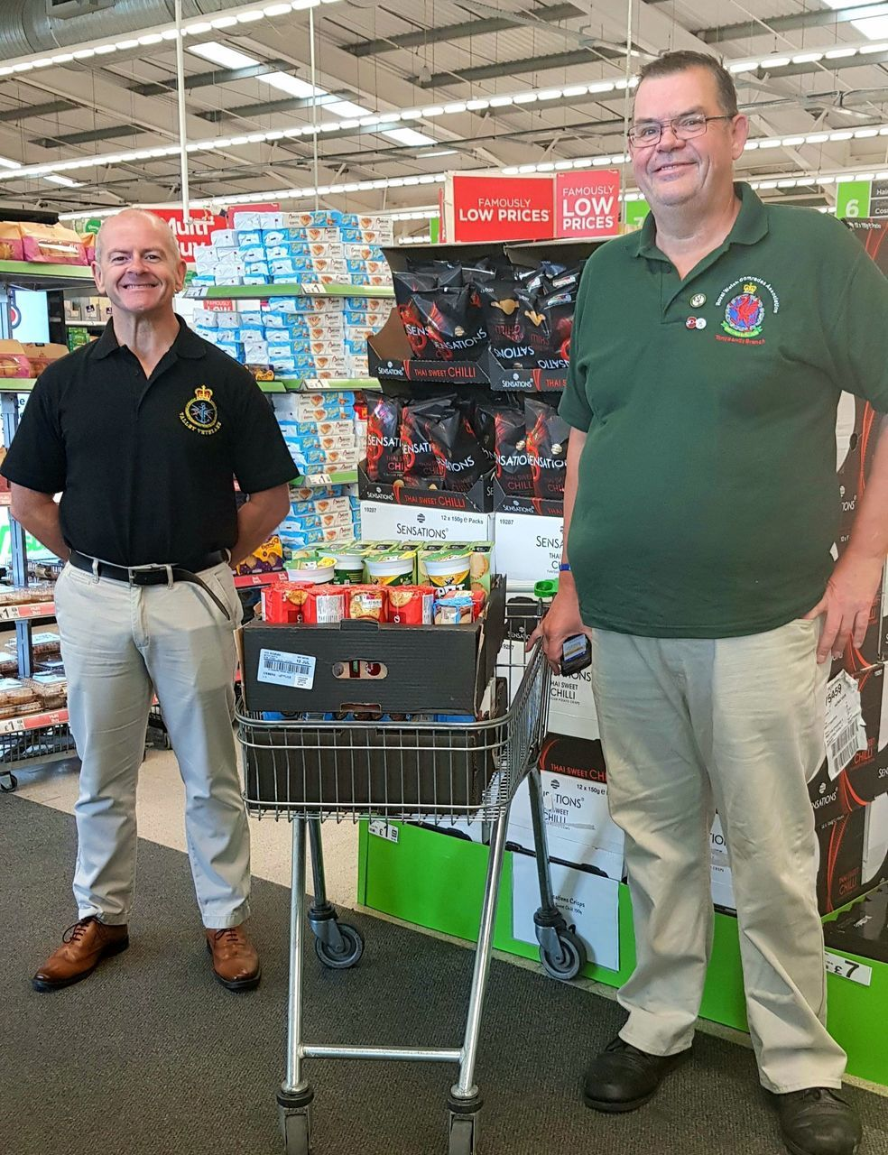 Valley Veterans donation | Asda Tonypandy