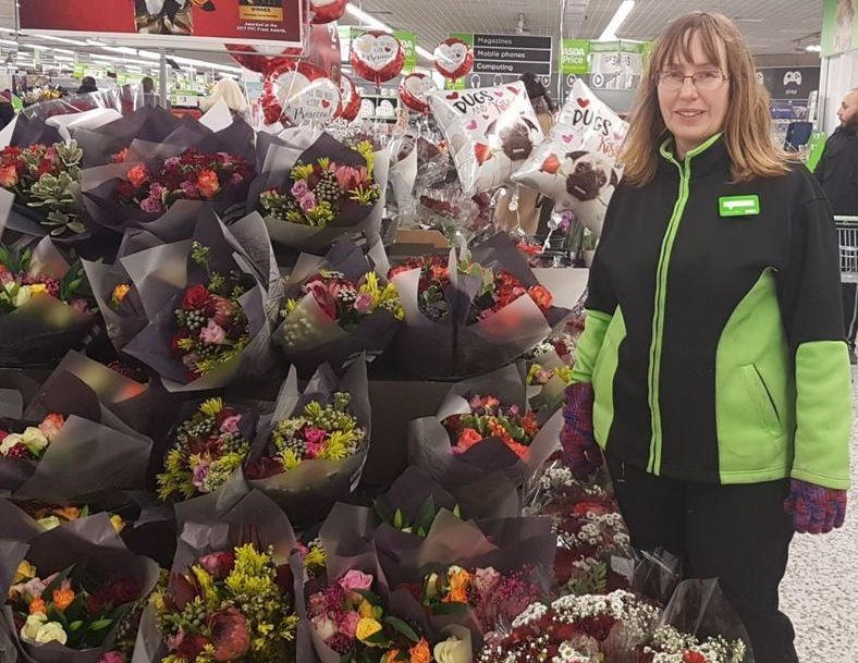 Asda Bournemouth colleague Nicky Pelling