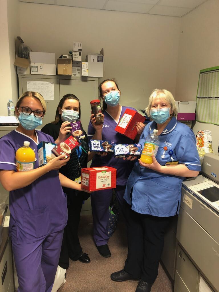 NHS donation | Asda Fareham