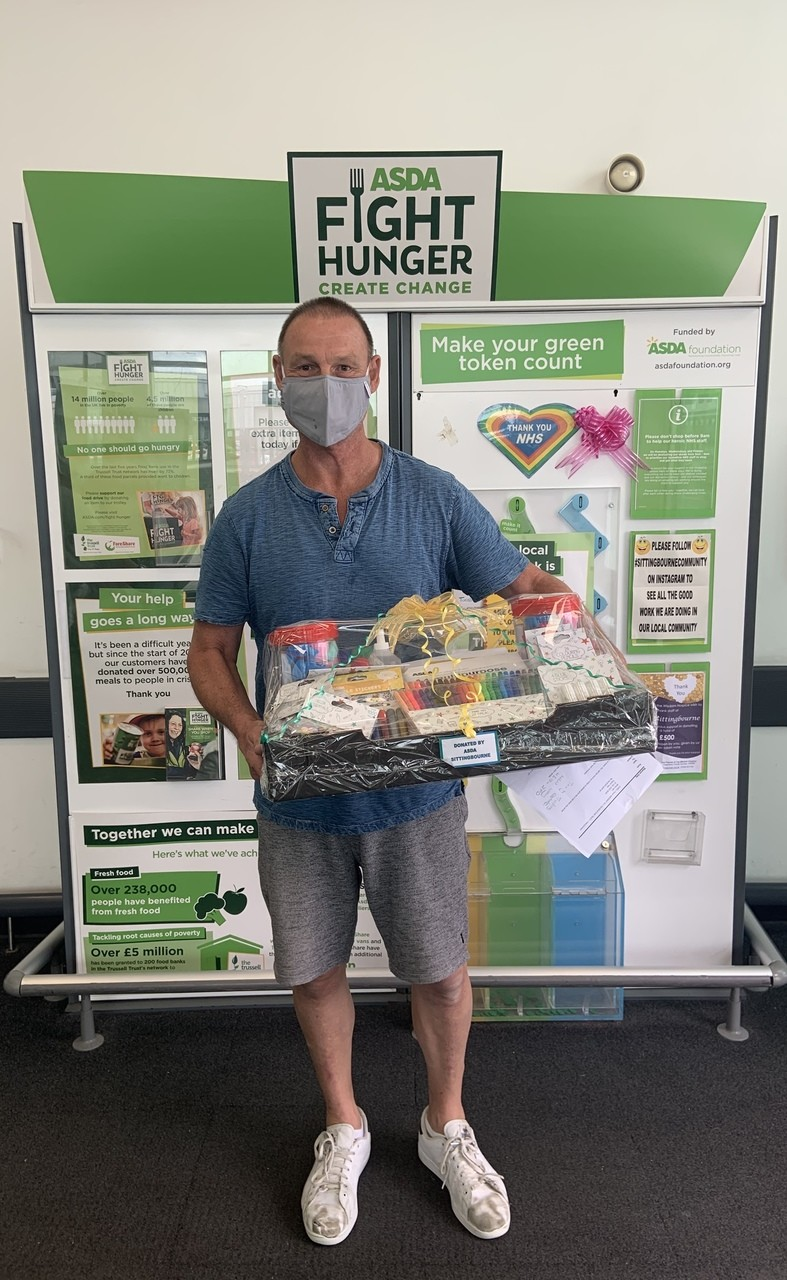 Donation to Medway Hospital | Asda Sittingbourne