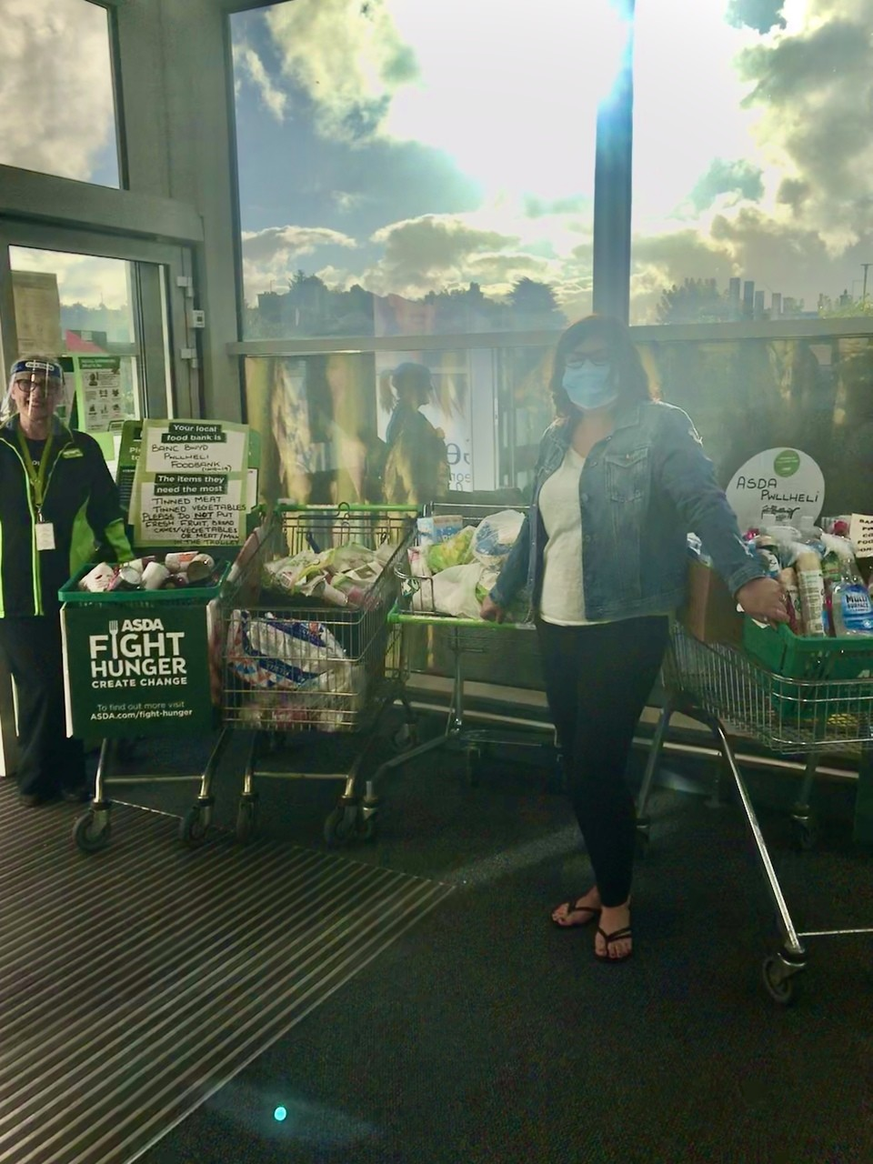 Foodbank donation collections  | Asda Pwllheli