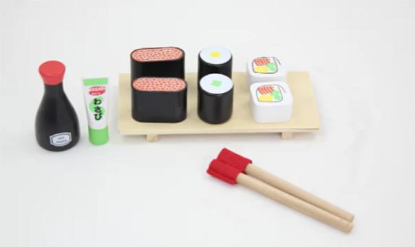 Wooden Toys 2019 - Sushi set