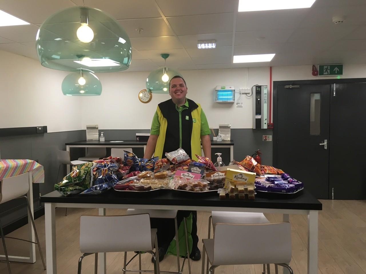 Colleague canteen treats | Asda Wheatley