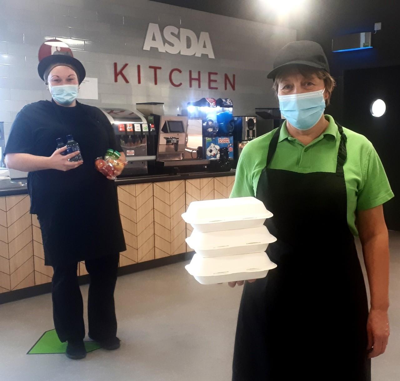 Kids Eat Free offer at Asda | Asda Boston