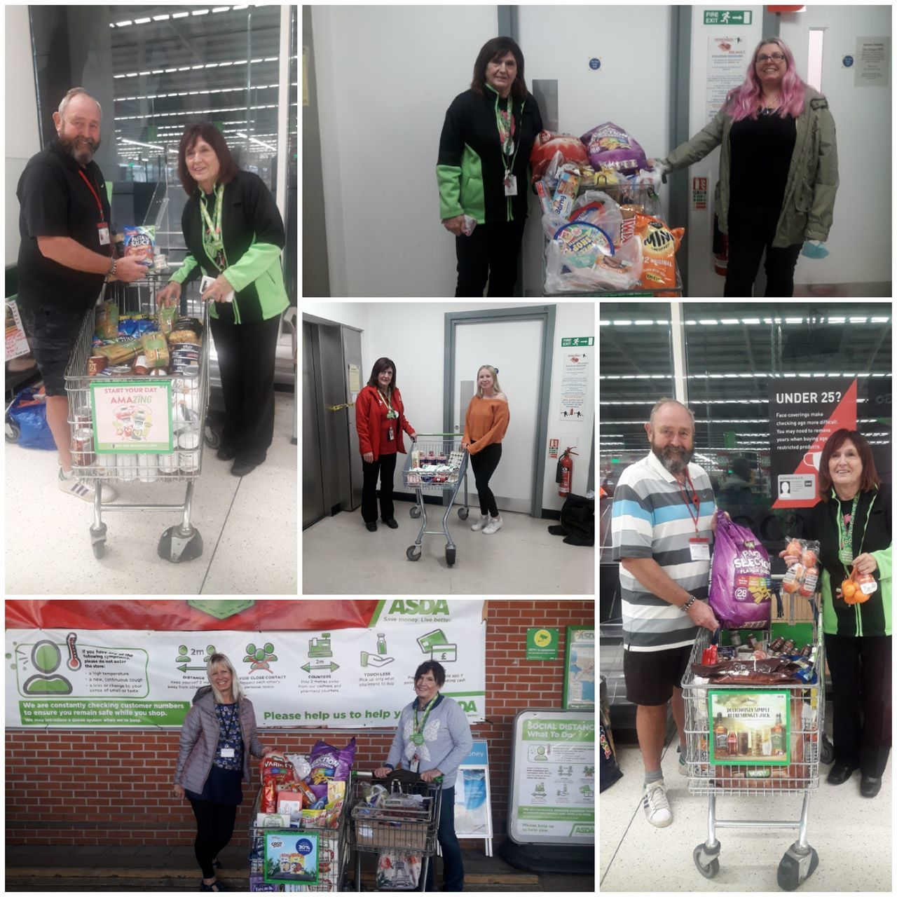 Donations to local groups | Asda Poole