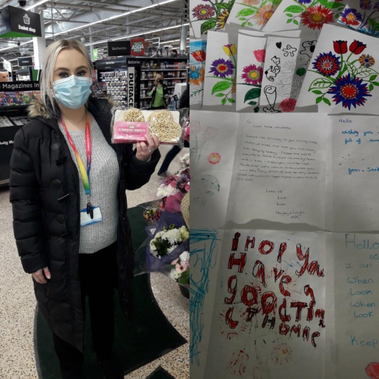 Valentine's donation | Asda Barrow