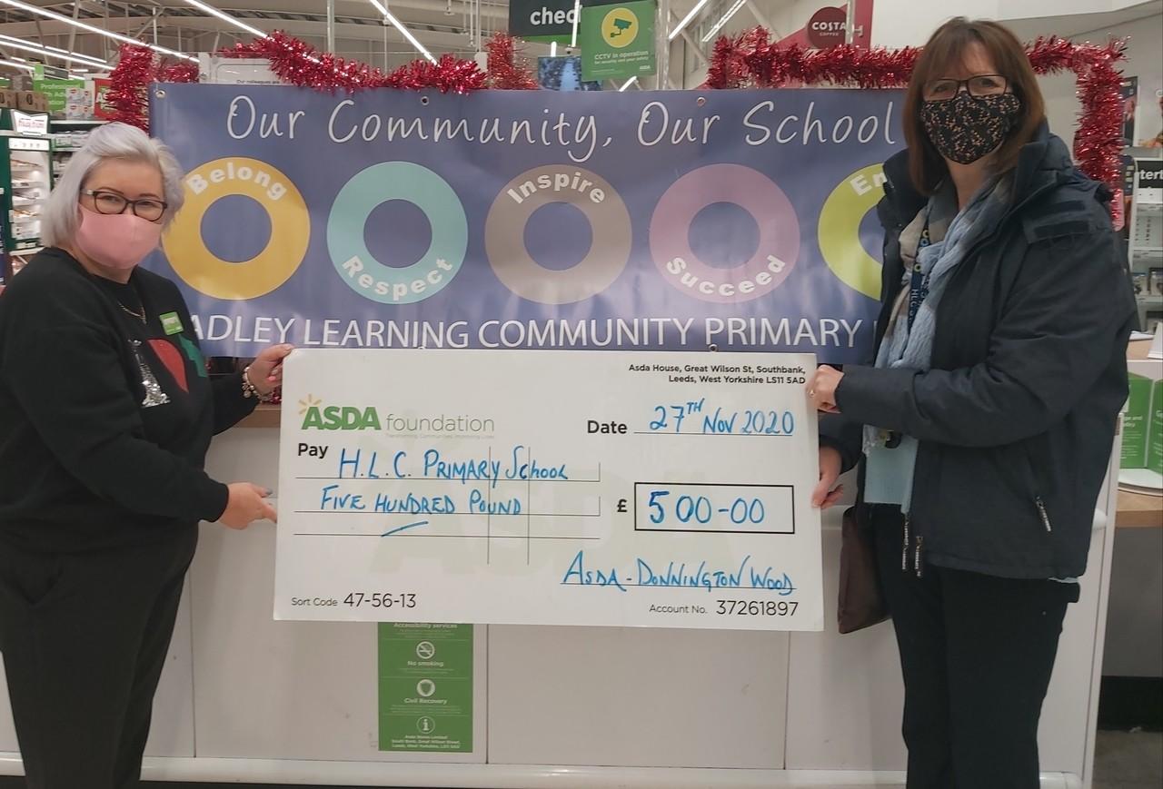 Head Teacher pays me a visit | Asda Donnington Wood