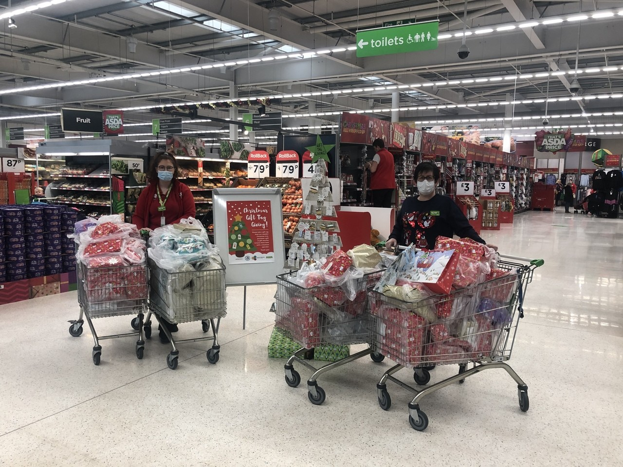 A big thank you to our customers   Asda Ballyclare