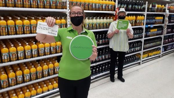 Asda launches digital Green Token Giving