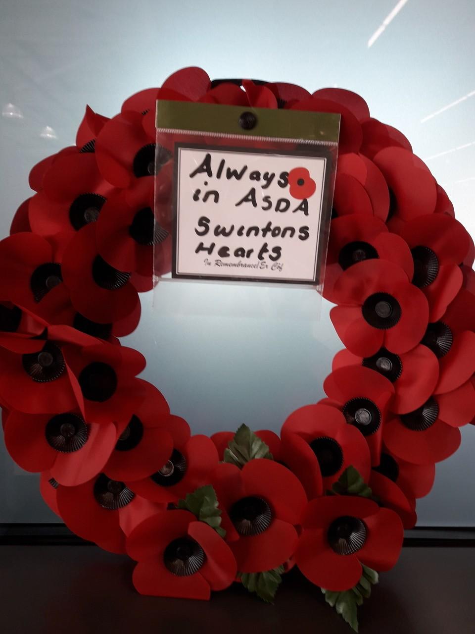 Poppy Appeal support | Asda Swinton