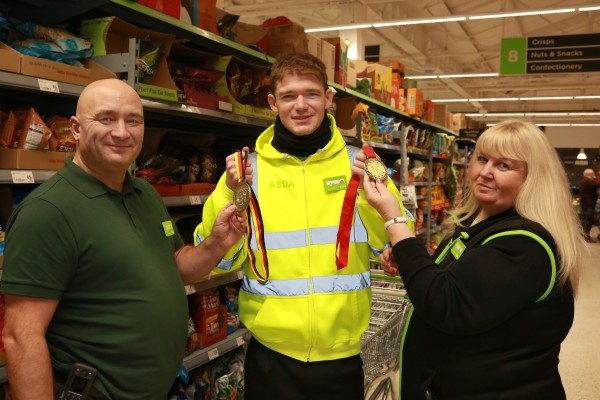 Tom Mawdsley from Asda South Woodham Ferrers hopes to compete at the Paralympics