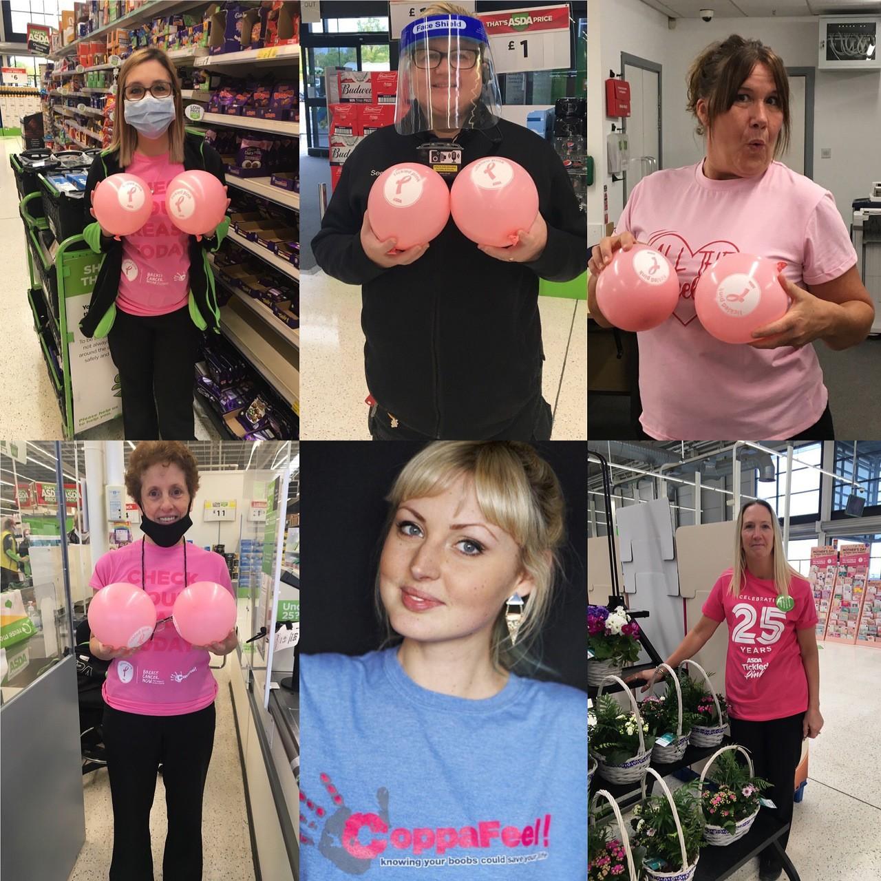 Tickled Pink in store   Asda Swindon Haydon