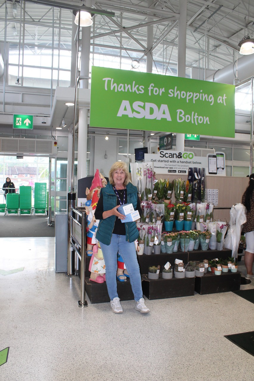 Donation of masks to care homes | Asda Bolton