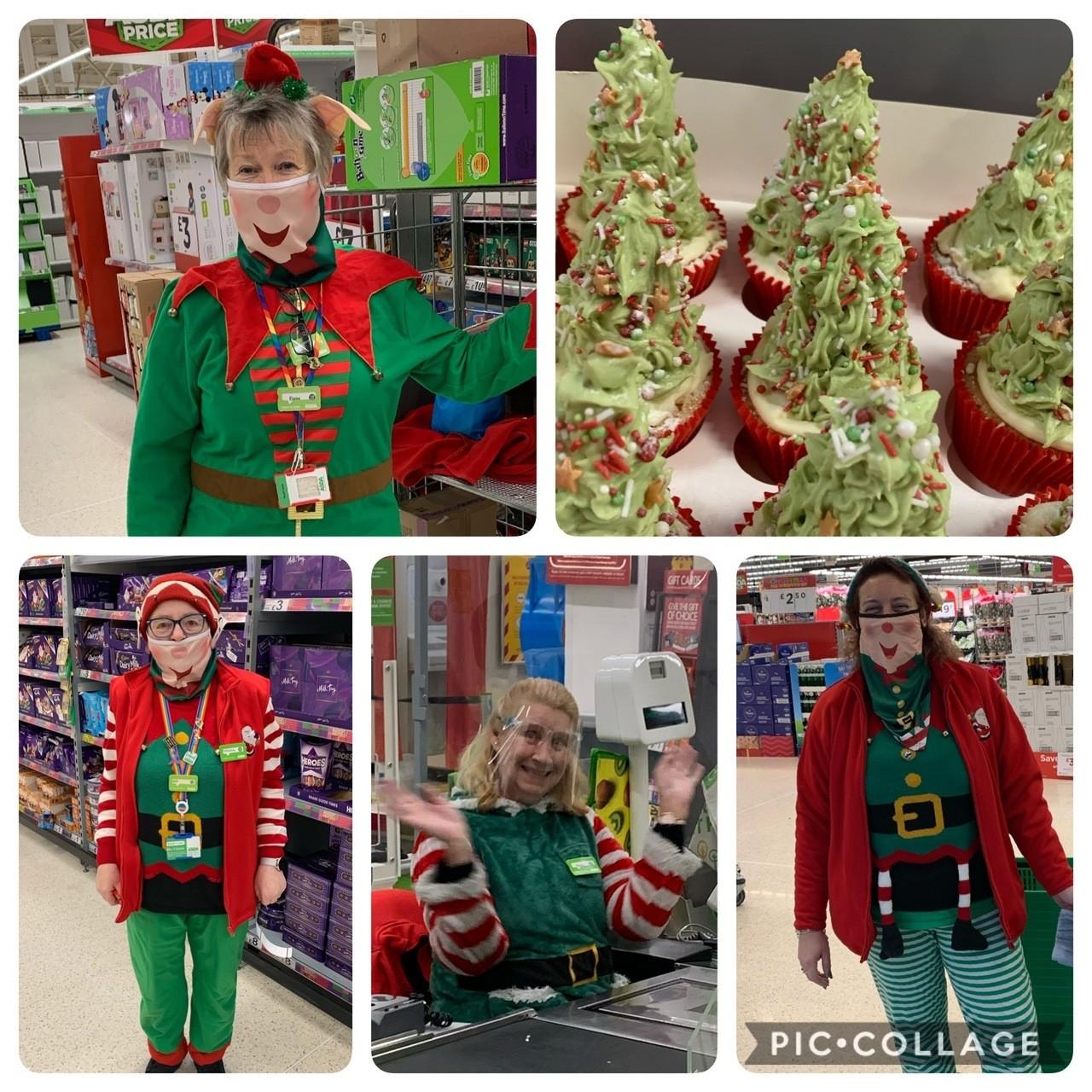 Elf Day for Alzheimer's Society | Asda Wigan