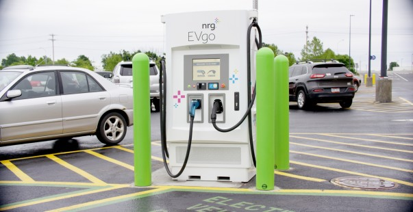 Electric Car Charging Stations at Sam's Club