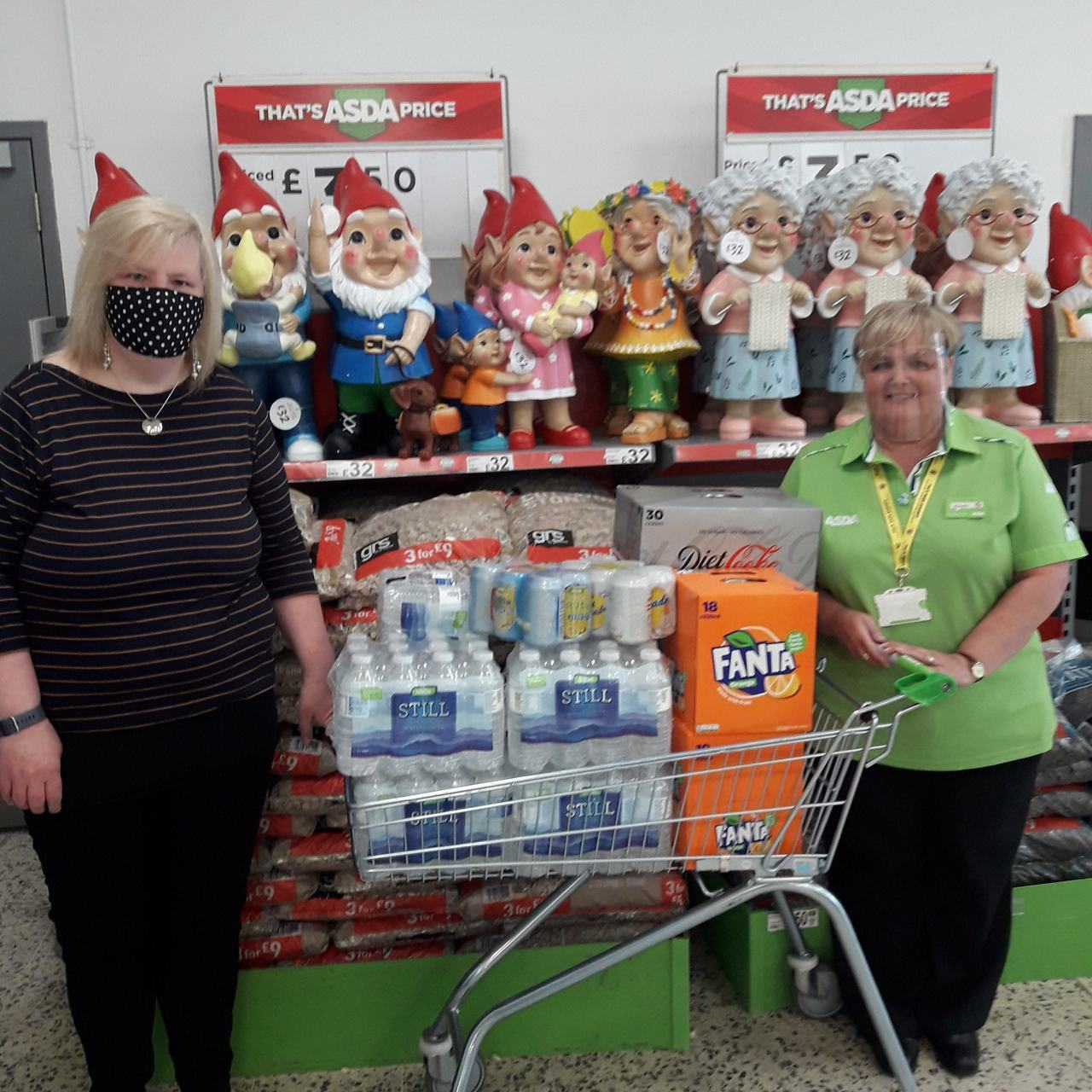 Supporting the homeless | Asda Gosforth