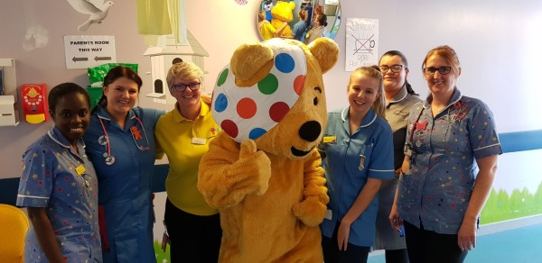 Colleagues at Asda Greenhithe raise money for Children in Need
