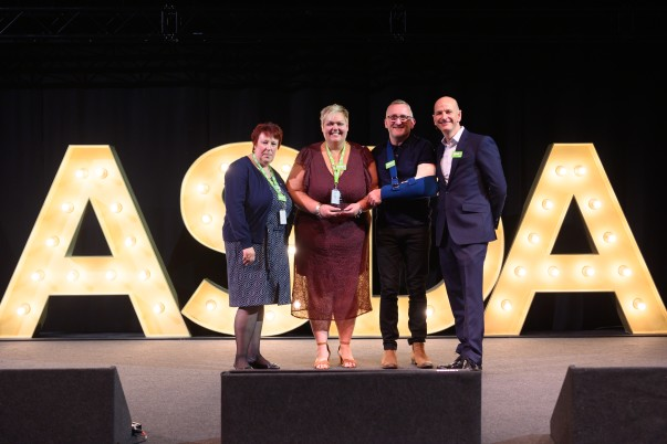 Nuneaton store wins Superstore of the Year award at Being Asda Awards