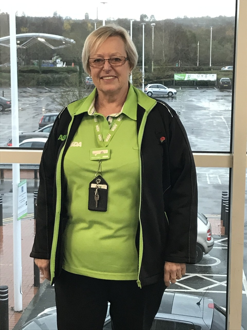 20 years' service for Alexis | Asda Cardiff Bay