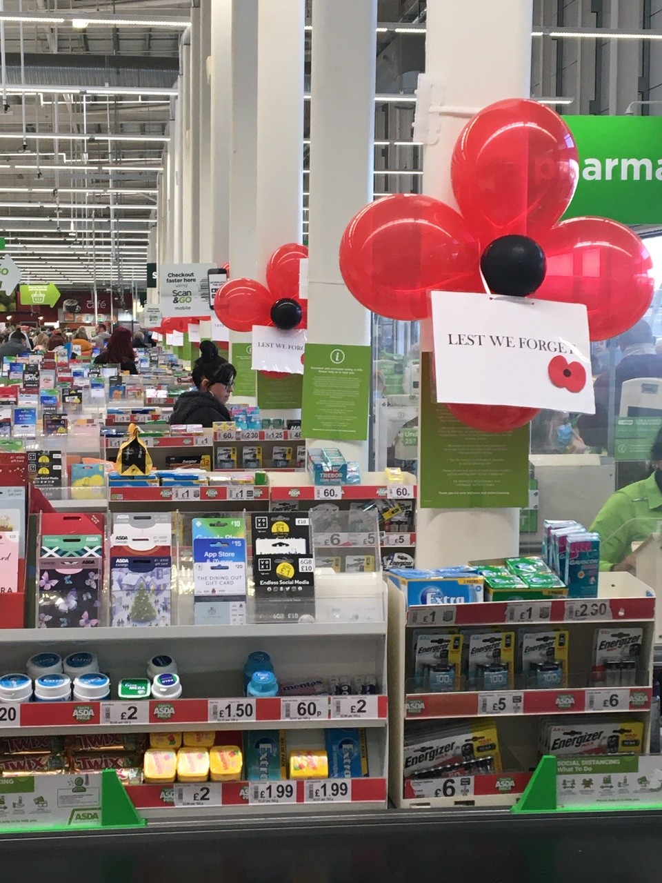 Showing our support for the Royal British Legion | Asda Swindon Haydon