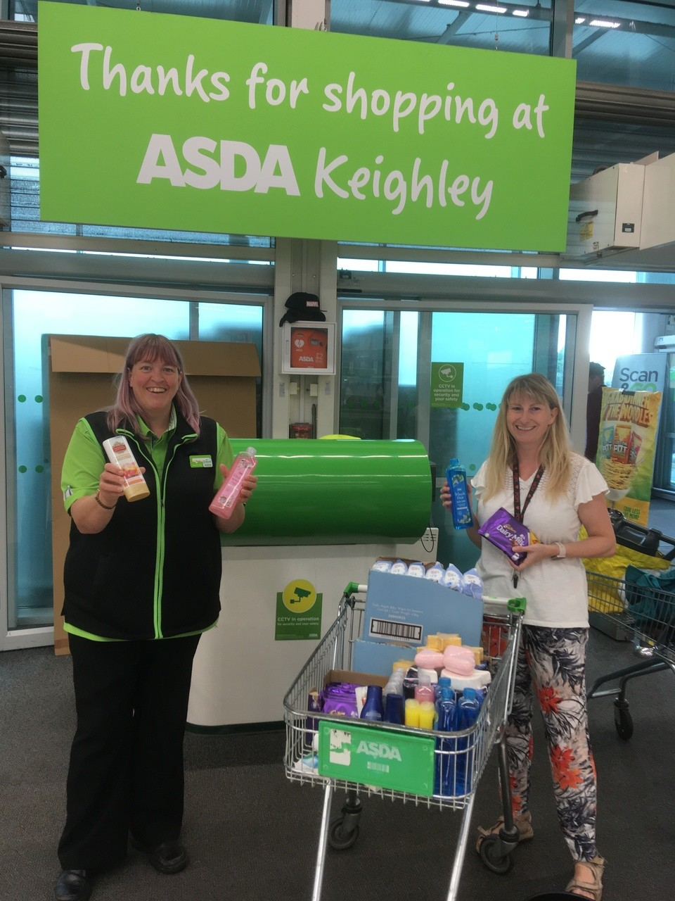 Asda Keighley supporting local families through Pass on Preloved Items | Asda Keighley