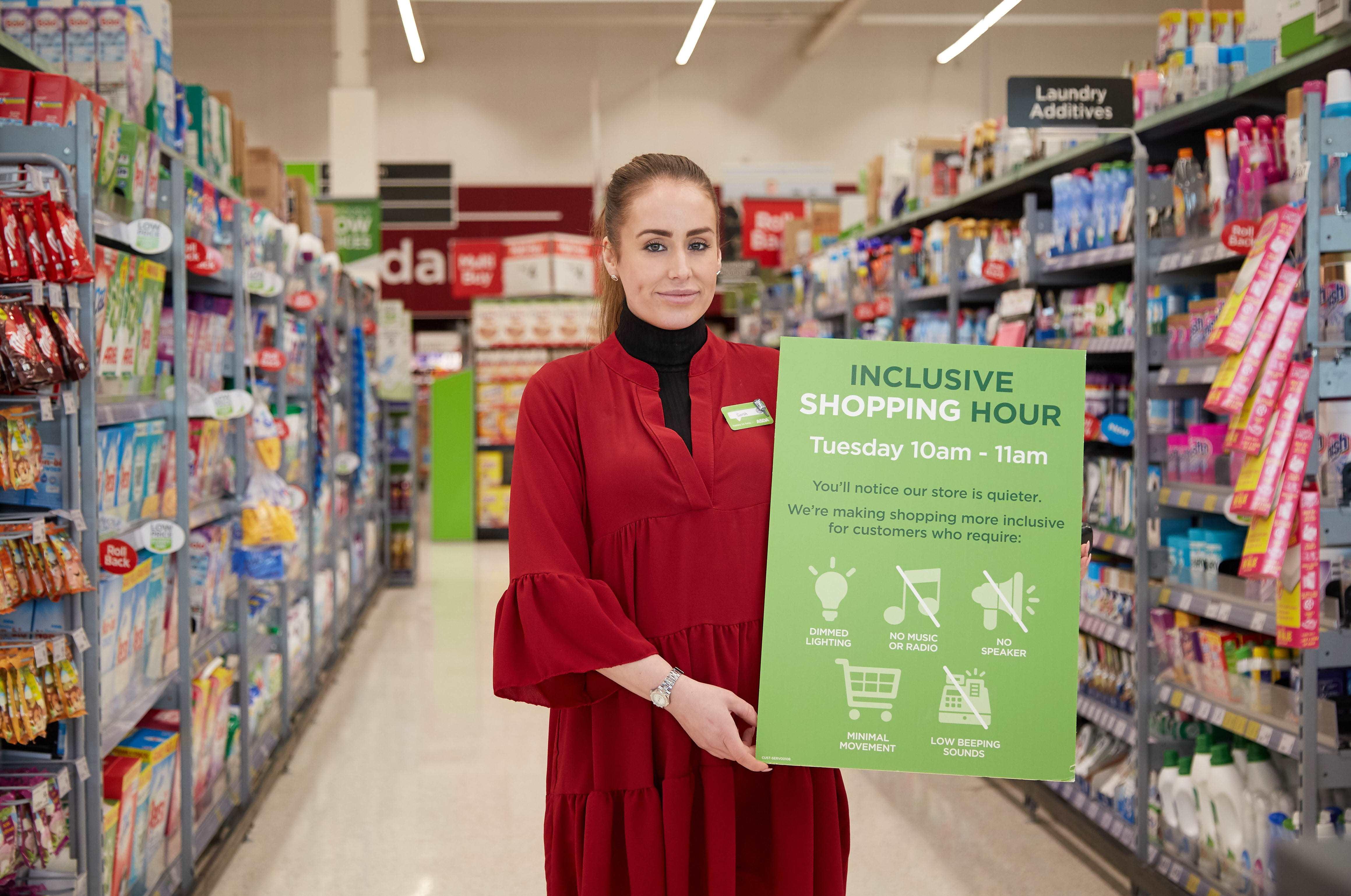 Asda Arrowe Park store manager Sarah Tavernor