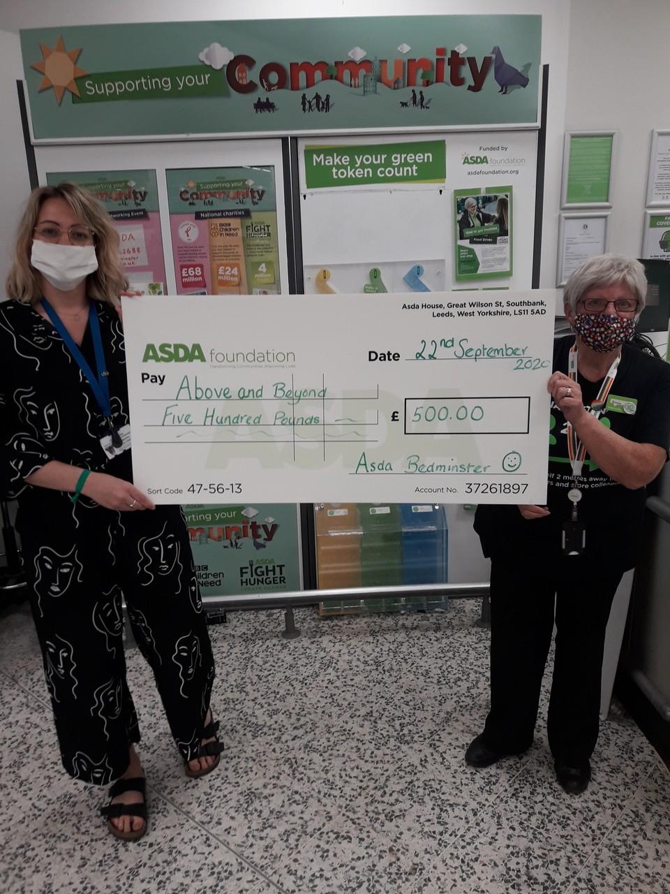 Above and Beyond – green token winners | Asda Bedminster
