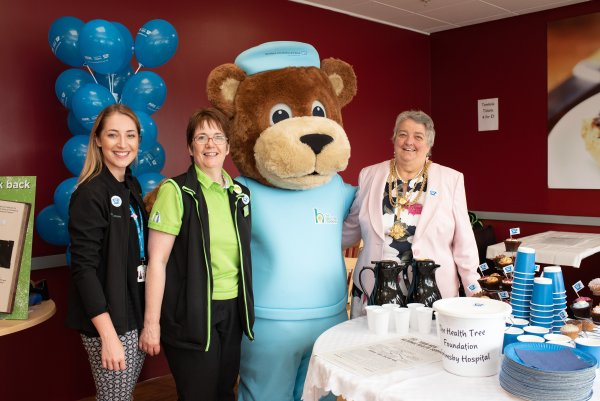 Asda Grimsby celebrate the NHS's 70th birthday at Diana, Princess of Wales Hospital