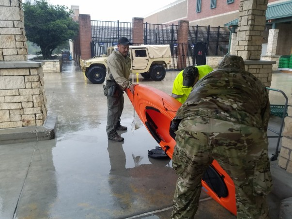 Hurricane Harvey Update, Helping Communities Hit Hardest, Kayak Donations
