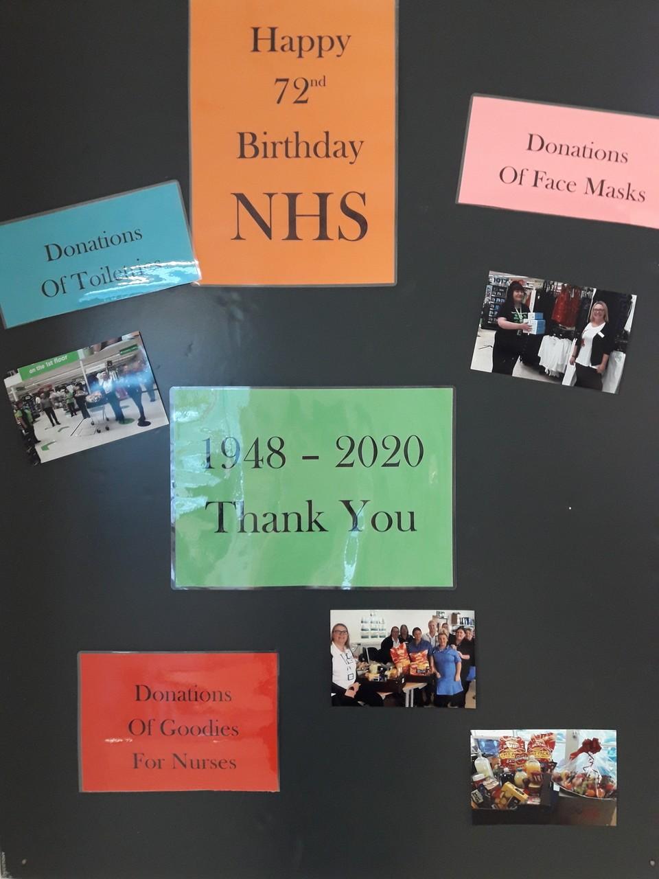 Happy 72nd Birthday NHS | Asda Gateshead