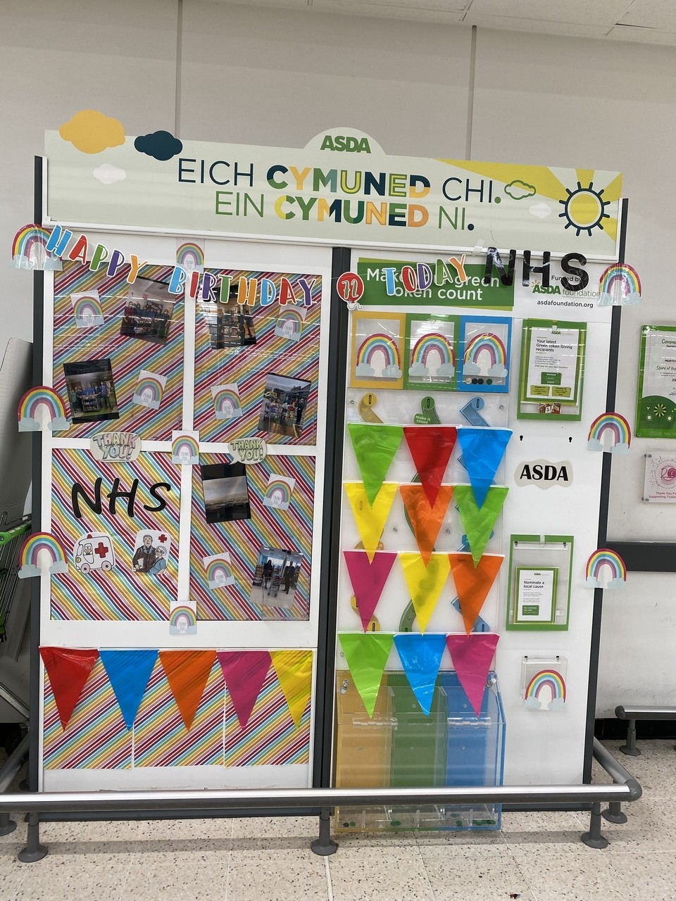 Happy 72nd birthday NHS  | Asda Merthyr Tydfil