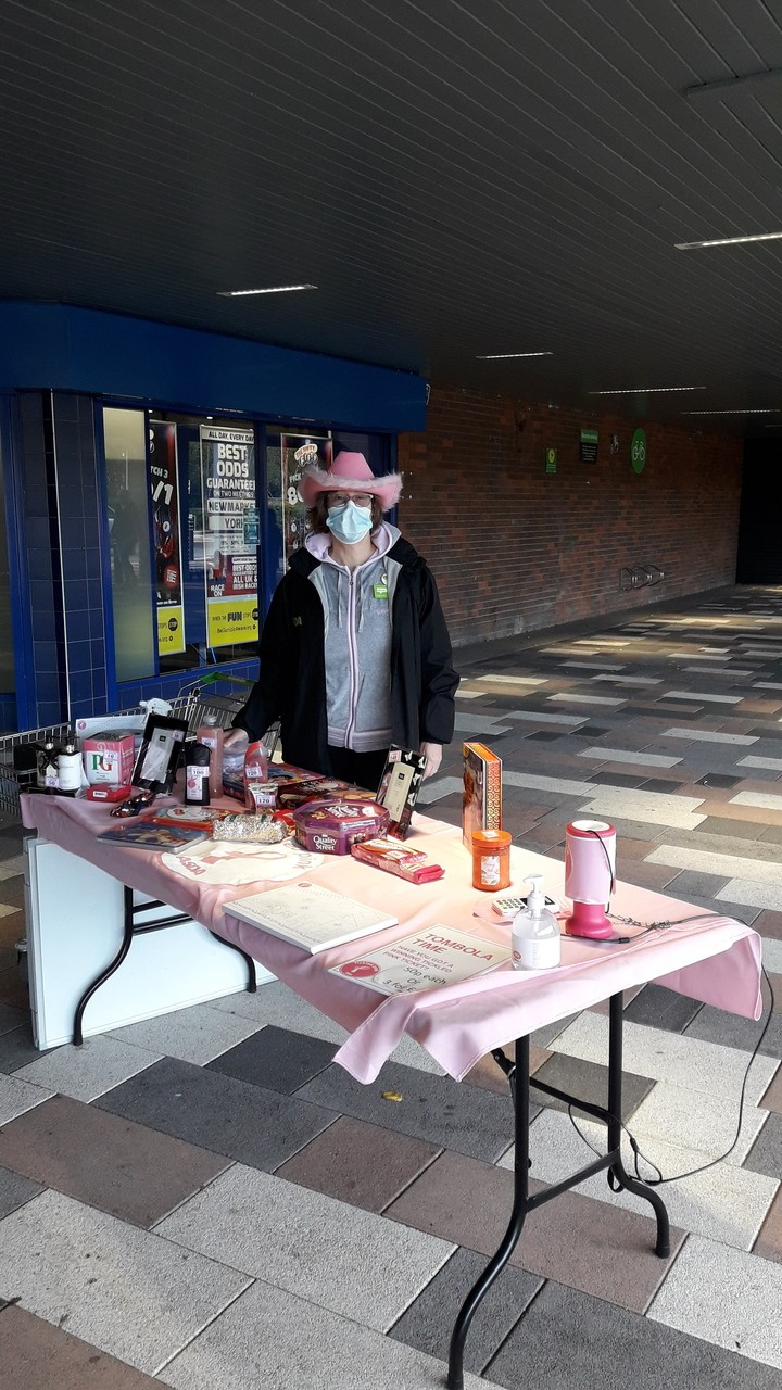 Tickled Pink fundraising  | Asda Darlington