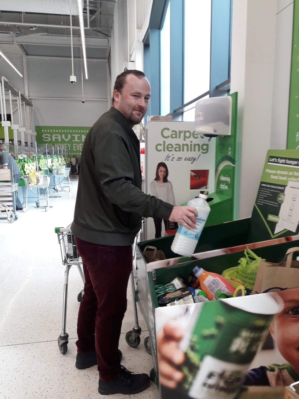 A kind regular customer | Asda Worcester