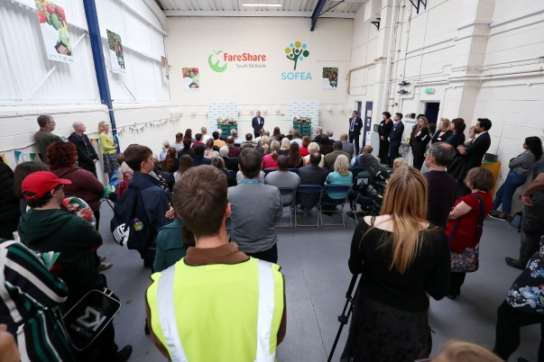 Funding from Asda Fight Hunger Create Change has enabled FareShare to open a new depot in Milton Keynes