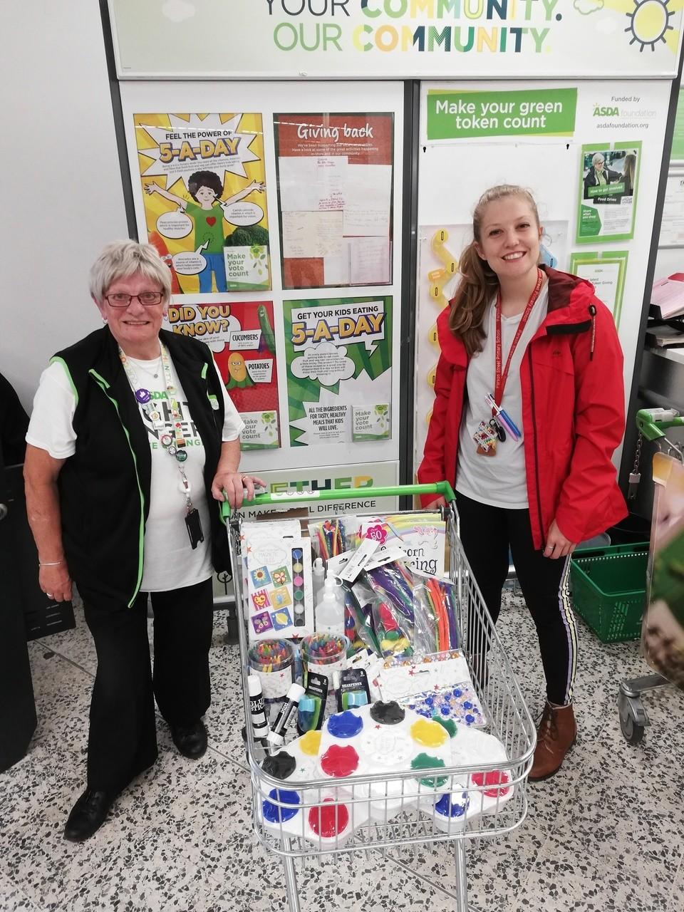 Local primary school donations | Asda Bedminster