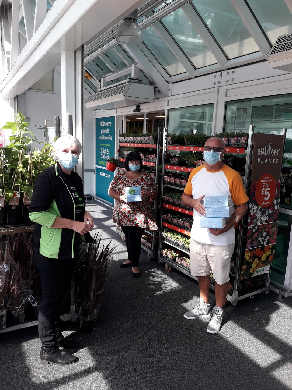 Care home donation | Asda St Helens