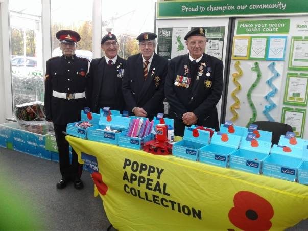 Asda Newport Poppy Appeal