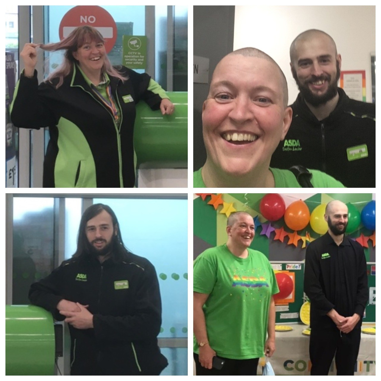 Asda Keighley colleagues brave the shave for charity | Asda Keighley