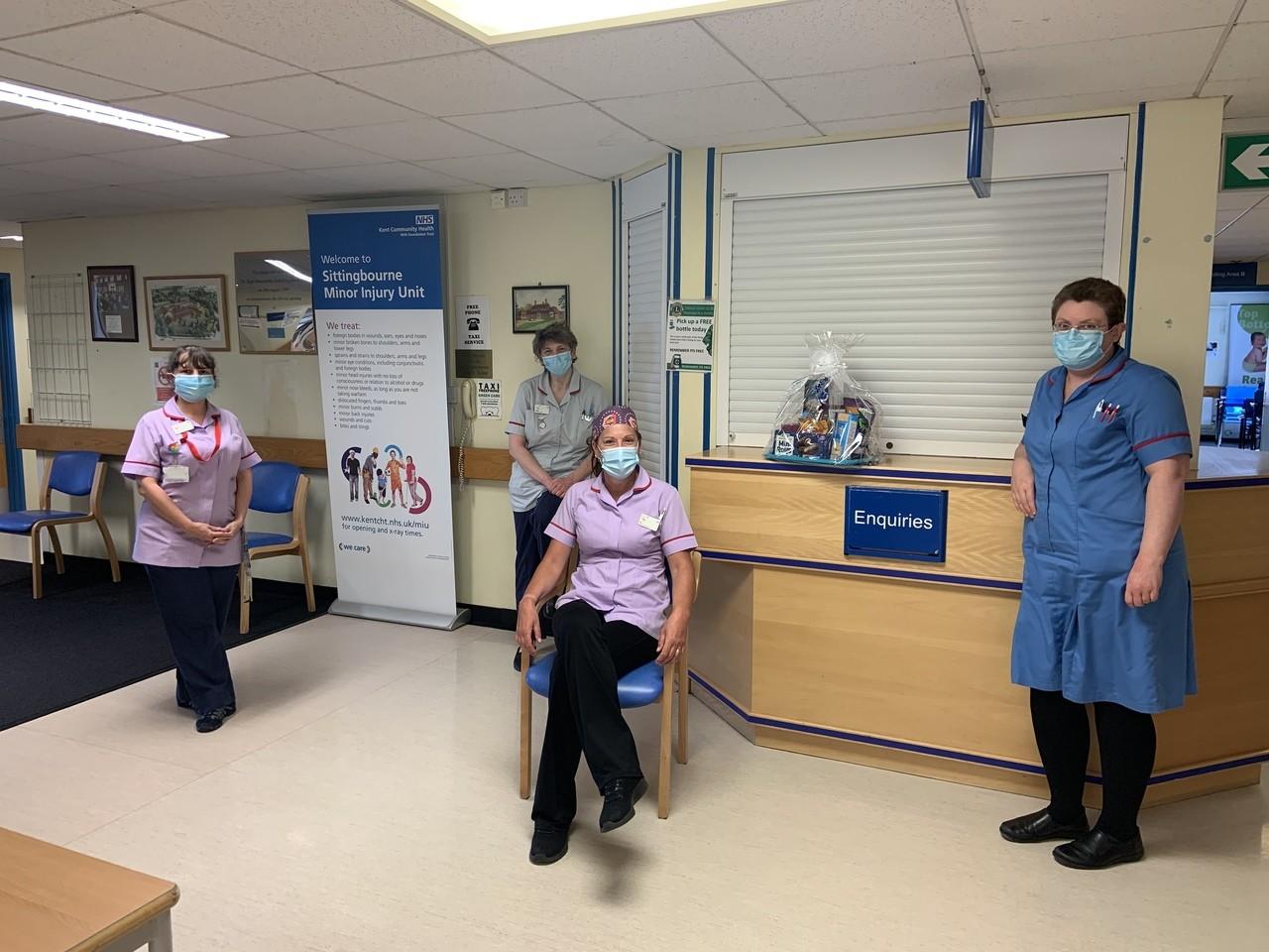 Thank you hamper for Sittingbourne Memorial hospital | Asda Sittingbourne