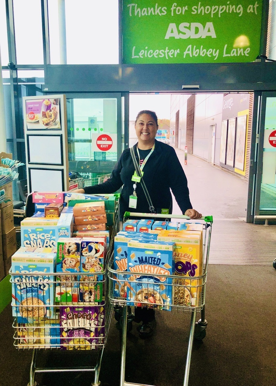Extra support to the local school  | Asda Leicester Abbey Lane