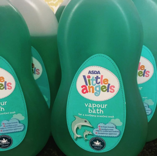 Asda Little Angels Vapour Bath has been getting people excited on social media
