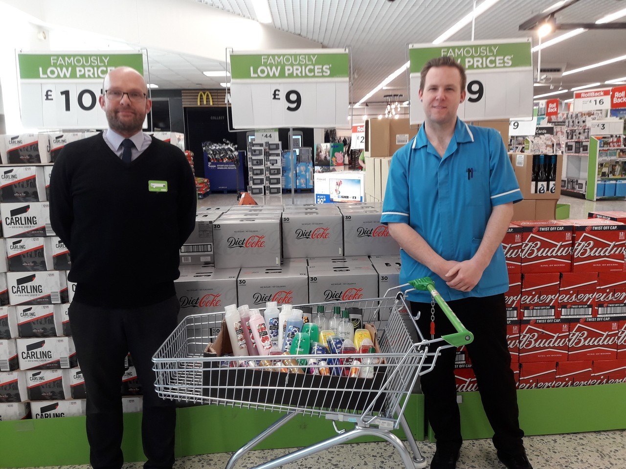 Donation to local care home | Asda Newport