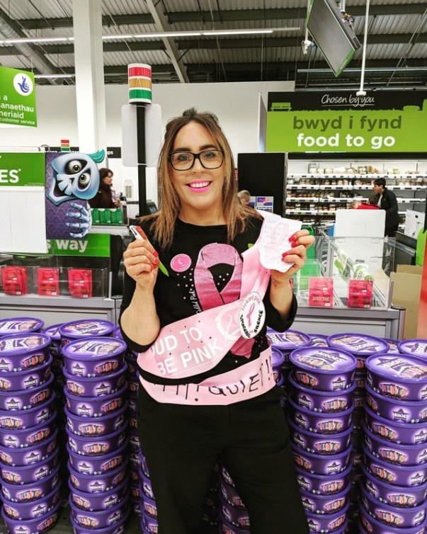 Llandudno colleague takes part in sponsored silence for Tickled Pink