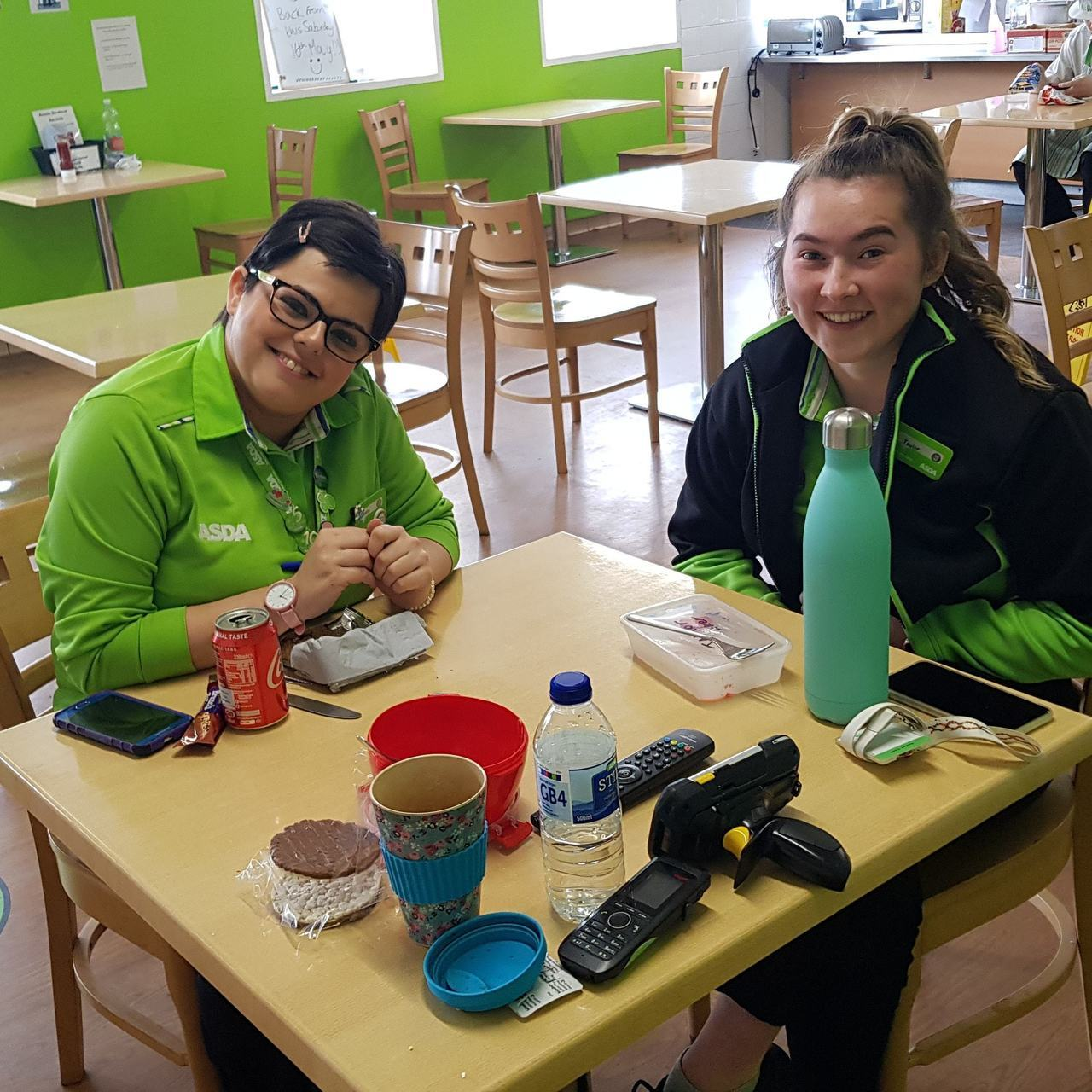 Well done Emma and Taylor | Asda Warrington