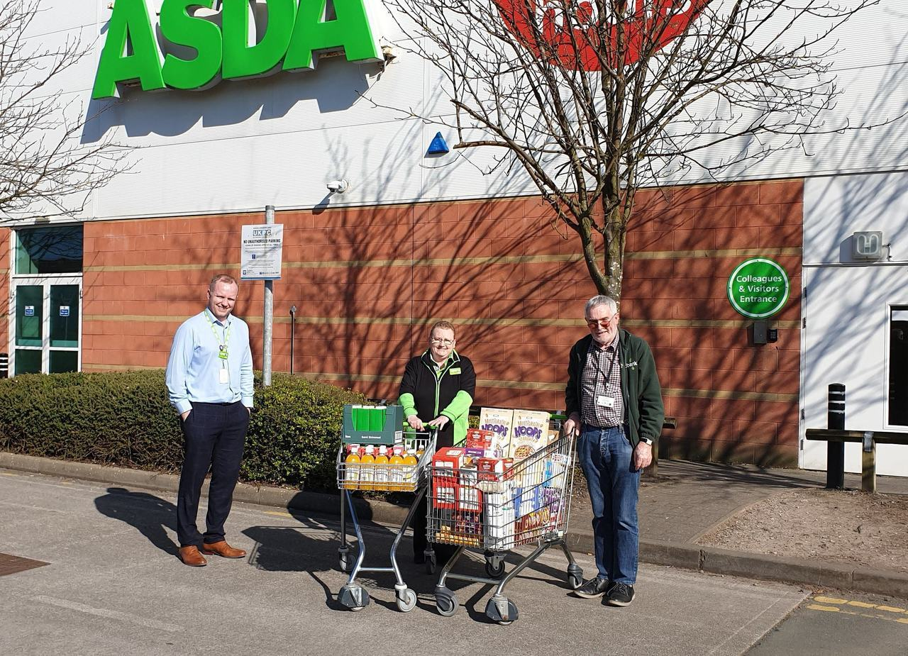 Supporting Southport Food Bank  | Asda Southport