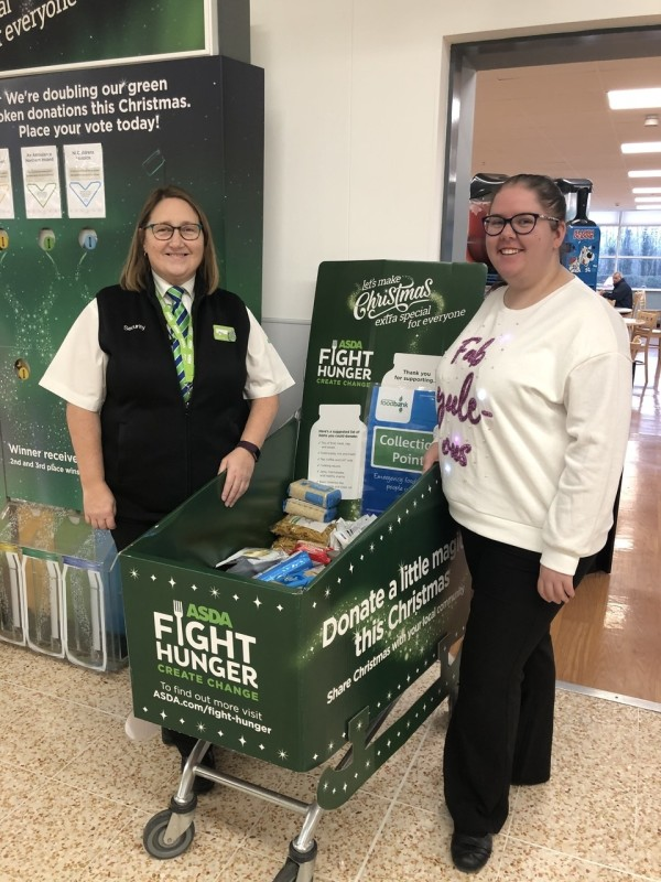 Supporting Asda Fight Hunger Create Change at Asda Coleraine