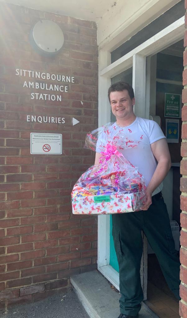 Ambulance station recognition | Asda Sittingbourne