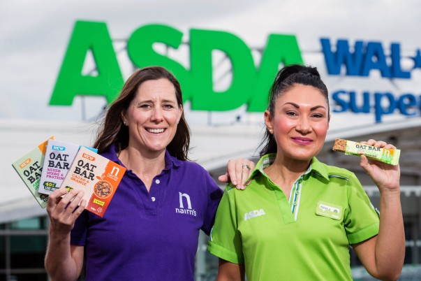 Lower-sugar Oat Bars from Nairn's are now available at Asda stores across Scotland